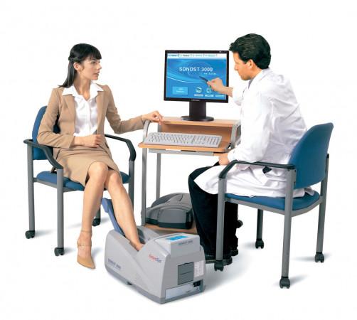Ультразвуковой костный денситометр SONOST-3000 (OsteoSys Co. Ltd., Южная Корея)